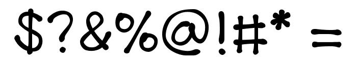 KBTheLittleFella Font OTHER CHARS
