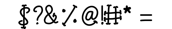 KBTinyRedWhale Font OTHER CHARS