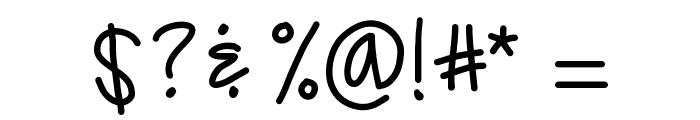 KBTrueBeliever Font OTHER CHARS