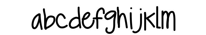 KBTrueBeliever Font LOWERCASE
