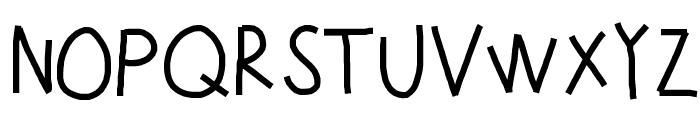 KBUpinSmoke Font UPPERCASE