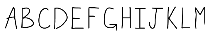 KBWiggleWorm Font UPPERCASE