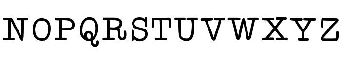 KBYoureJustMyType Font UPPERCASE