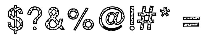 KBYouveBeenSpotted Font OTHER CHARS