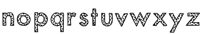 KBYouveBeenSpotted Font LOWERCASE