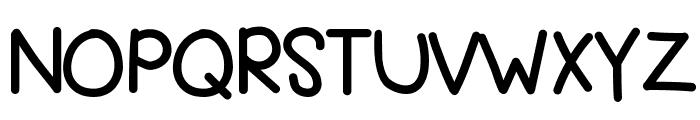 KBbubblegum Font UPPERCASE