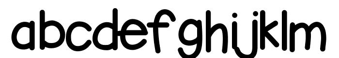 KBbubblegum Font LOWERCASE