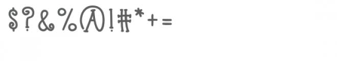 kb raspberry tart Font OTHER CHARS