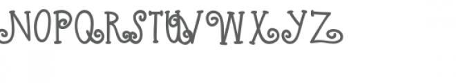kb raspberry tart Font UPPERCASE