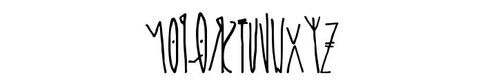 kcirF esreveR Font UPPERCASE