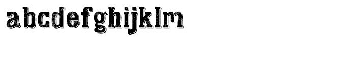 KD Addison West Font LOWERCASE