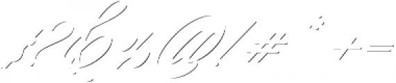 Keepsake Drop Shadow Regular otf (400) Font OTHER CHARS