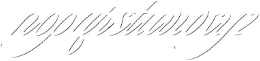 Keepsake Drop Shadow Regular otf (400) Font LOWERCASE