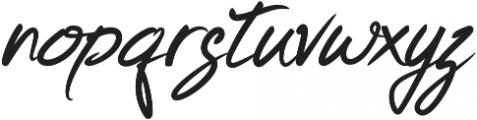 Keishue otf (400) Font LOWERCASE
