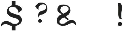 Kelasik otf (400) Font OTHER CHARS