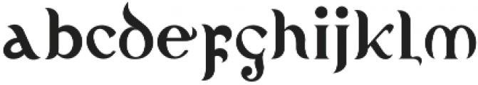 Kelasik otf (400) Font LOWERCASE