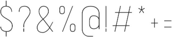 Kelpt A2 Thin otf (100) Font OTHER CHARS