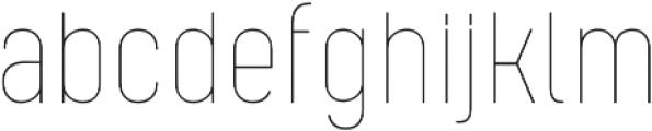 Kelpt A2 Thin otf (100) Font LOWERCASE