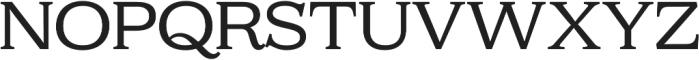 Kelvingrove Regular otf (400) Font UPPERCASE