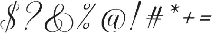 Keneisha otf (400) Font OTHER CHARS