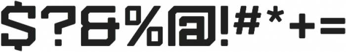 Kensmark.04 Bold Soft otf (700) Font OTHER CHARS