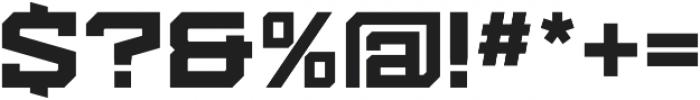 Kensmark.05 Black otf (900) Font OTHER CHARS