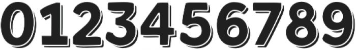 Kent 4F Shadowed otf (400) Font OTHER CHARS