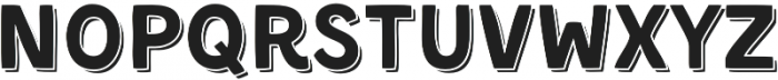 Kent 4F Shadowed otf (400) Font LOWERCASE
