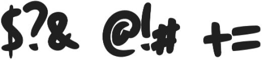Keripik otf (400) Font OTHER CHARS