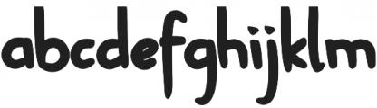 Keripik otf (400) Font LOWERCASE
