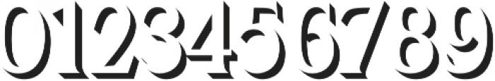 Kertayasa Shadow otf (400) Font OTHER CHARS