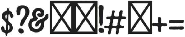 Kessler otf (400) Font OTHER CHARS