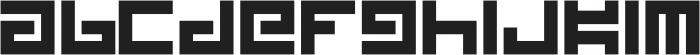 Kesura ttf (400) Font LOWERCASE