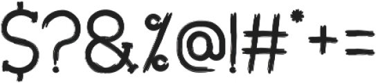 Ketapang otf (400) Font OTHER CHARS