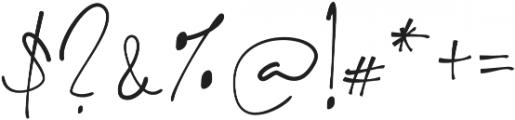 Key West Script Regular otf (400) Font OTHER CHARS