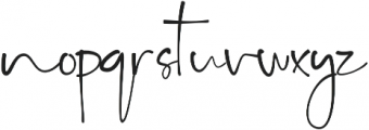 Key West Script Regular otf (400) Font LOWERCASE