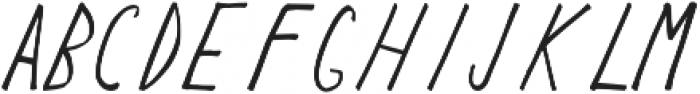Keyf Bold otf (700) Font UPPERCASE