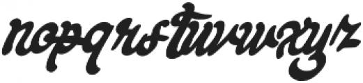Keyrey otf (400) Font LOWERCASE