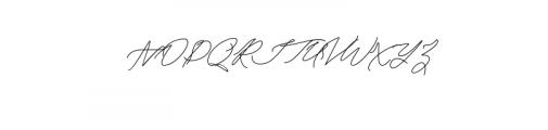 Keraton Font UPPERCASE