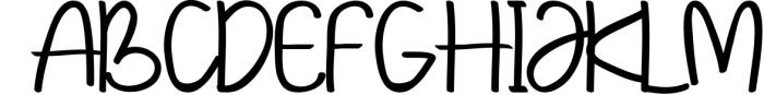 Kempton 1 Font UPPERCASE