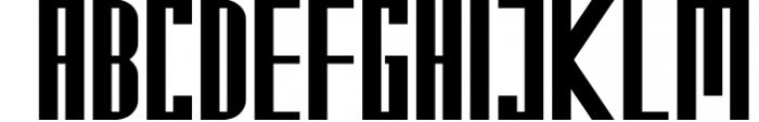Kempton Font UPPERCASE