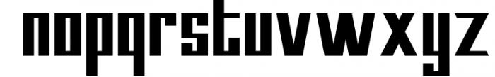 Kempton Font LOWERCASE