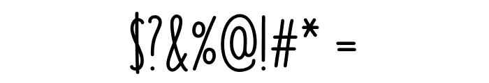 KEY LIME Demo Regular Font OTHER CHARS