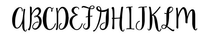 Ke Aloha Font UPPERCASE