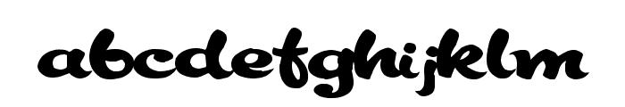 Keele Decorated Font LOWERCASE