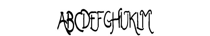 Keep It Simple Sally Font LOWERCASE