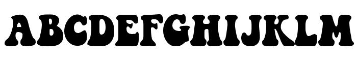 Keep on Truckin Font UPPERCASE