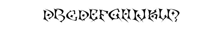 Kefka Font LOWERCASE