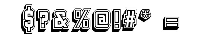 KeggerCollegiate Font OTHER CHARS