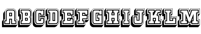 KeggerCollegiate Font UPPERCASE